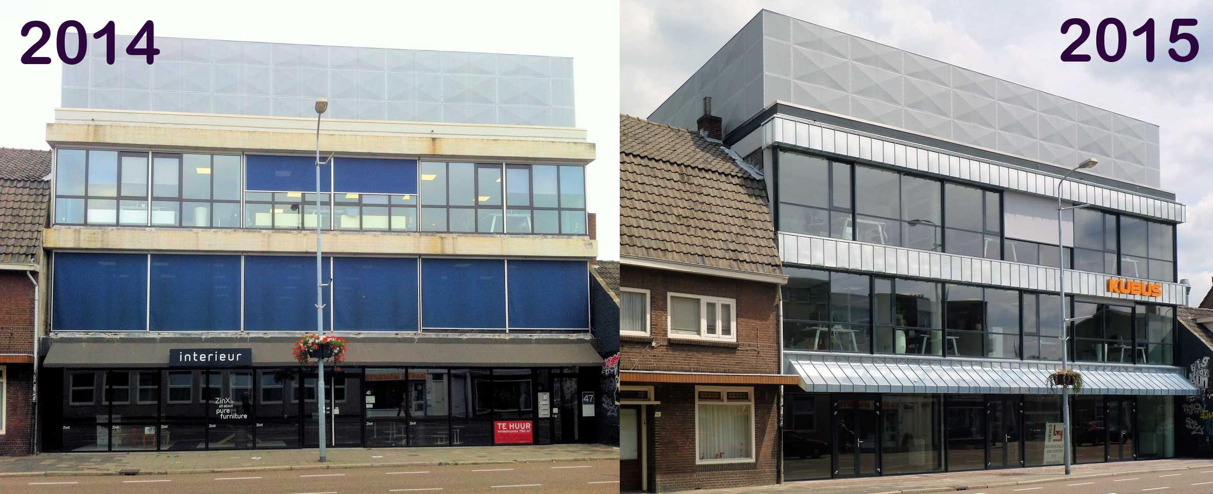 Transformatie kubus gebouw archifoor co peratie u a - Architectuur en constructie ...